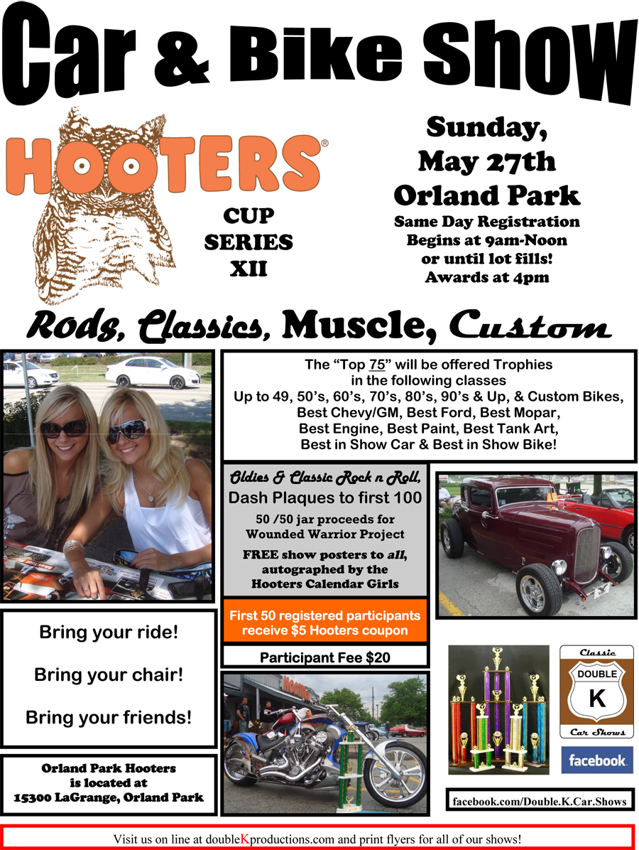 Hooters Orland Park Car Show