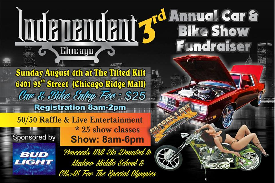 Tilted Kilt Chicago Ridge Car Show