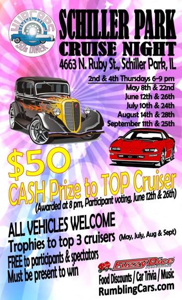 Schiller Park Cruise Night