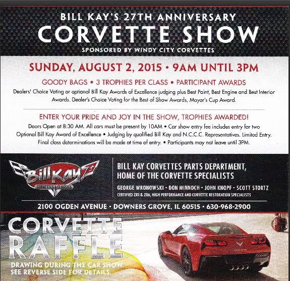 Bill Kay Corvettes and Classics Dealers Choice