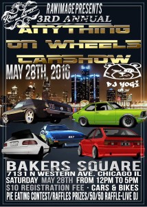 Anything on Wheels Car Show @ Bakers Square   Chicago   Illinois   United States