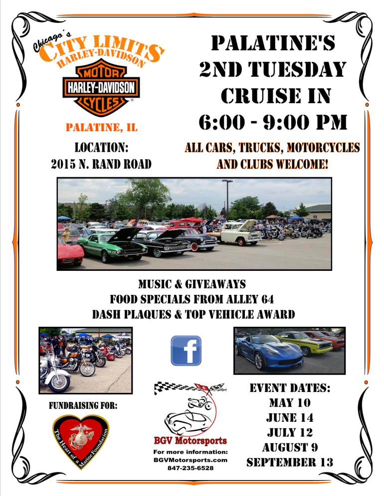 2016 City Limits Harley-Davidson Cruise In