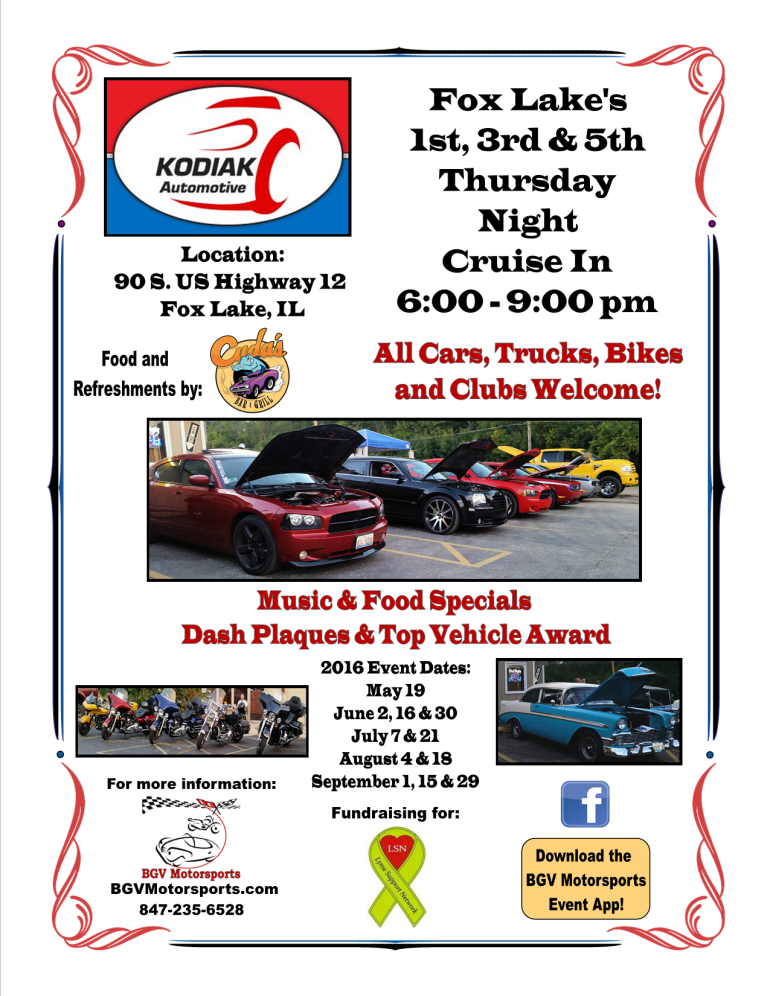 2016 Kodiak Automotive Cruise Night