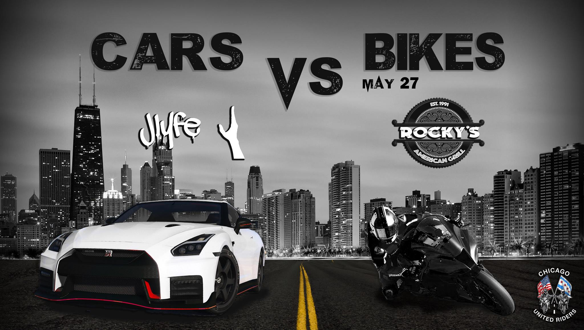 cars vs bikes | chitownmeets - find and share local chicago car